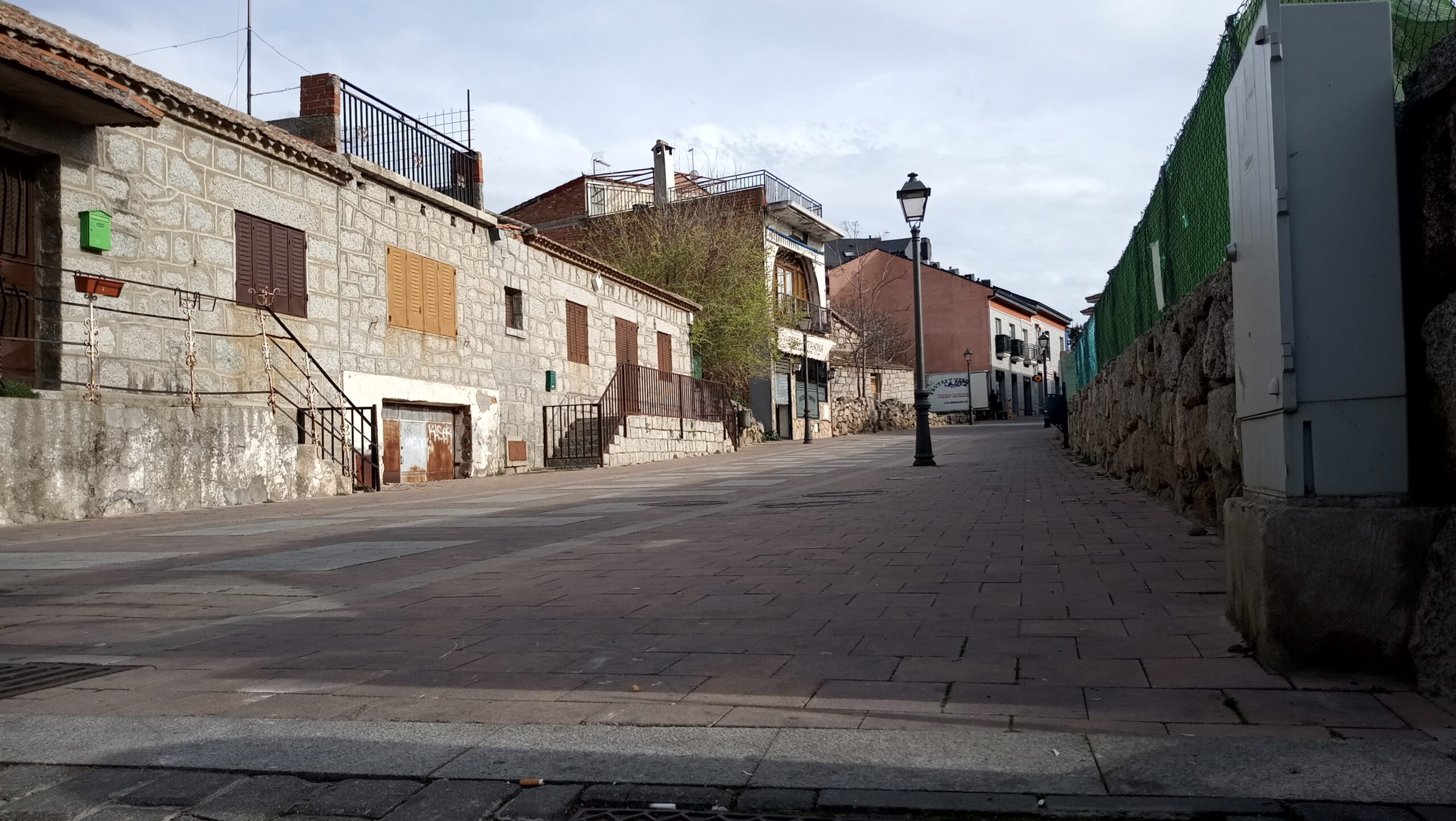 Calle Madrid, vista desde la Plaza.