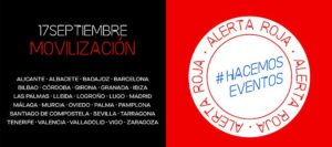 Movimiento 'Alerta Roja Eventos'
