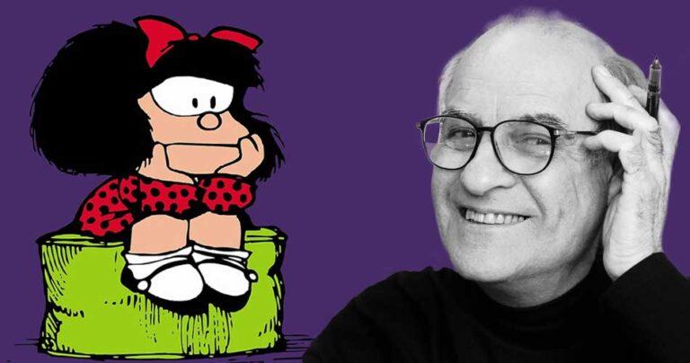 Adiós al creador de Mafalda